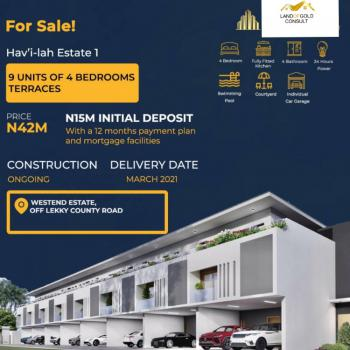 Luxury 4 Bedroom Terrace Duplex., Lekki Phase 2, Lekki, Lagos, Terraced Duplex for Sale