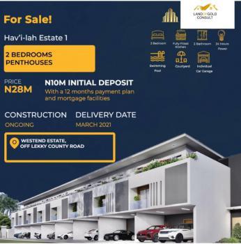 Luxury 2 Bedroom Apartment., Lekki Phase 2, Lekki, Lagos, Block of Flats for Sale