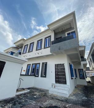 Newly Built 4 Bedroom Semi Detached Duplex with a Room Bq, Osapa, Lekki, Lagos, Detached Duplex for Sale