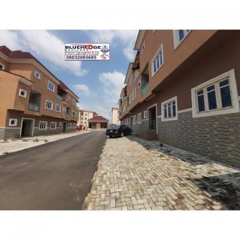 Brand New Well Located 4 Bedroom Terrace House with Bq, Off Olusegun Obasanjo Way, Wuye, Abuja, Terraced Duplex for Sale