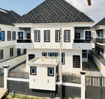 Newly Built,self-serviced 4 Bed Semi-detached Duplex in a Gated Estate, No Flooding Zone, Agungi, Lekki, Lagos, Semi-detached Duplex for Rent