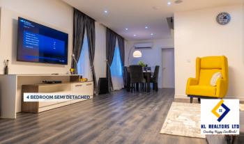 Luxury 4 Bedrooms Semi Detached Duplex with Bq, Lekki Phase 2, Lekki, Lagos, Semi-detached Duplex for Sale