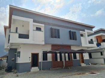 Nicely Built and Spacious 4 Bedroom Semi-detached House with Bq, Chevron, Lekki, Lagos, Detached Duplex for Rent