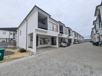 Nicely Built and Spacious 4 Bedroom Terrace House with Bq, Orchid Hotel Road, Lekki, Lagos, Terraced Duplex for Rent