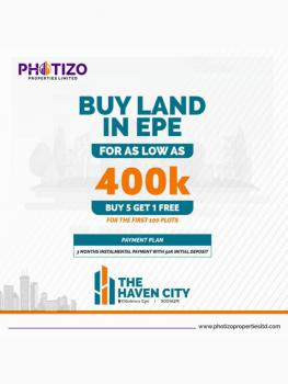 Haven City Estate, Odolewu Epe, Along Ijebu Ode Expressway, Epe, Lagos, Residential Land for Sale