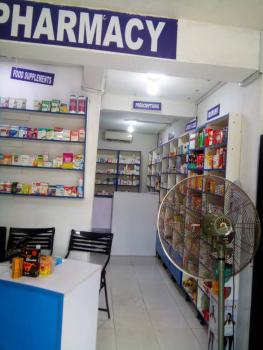 Beautiful Well Stock Pharmacy/supermarket with Toilet Inside, Beside Ebutte Meta Comprehensive Health Centre, Ebute Metta West, Yaba, Lagos, Commercial Property for Sale