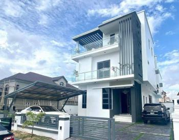 Brand New 5 Bedroom Fully Detached House with Bq., Osapa London, Osapa, Lekki, Lagos, Detached Duplex for Sale