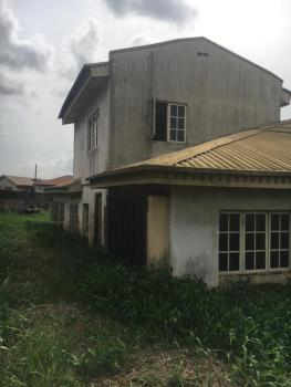 a Dilapidated 4 Bedroom Bungalow with Pent House on 687sqm, Ifako, Gbagada, Lagos, Detached Bungalow for Sale