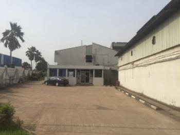 Warehouse with Office Spaces on 3 Acres, Off Oba Akran, Ikeja, Lagos, Warehouse for Sale