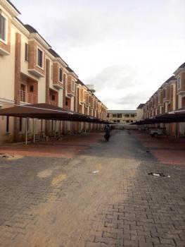 New 4 Bedroom Terraced Duplex with Bq, Chevron Area, Lekki, Lagos, Terraced Duplex for Rent