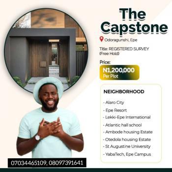 The Capstone: Beautifully Designed Luxury Estate, Odoragunshi, Behind Yabatech, Epe, Lagos, Mixed-use Land for Sale