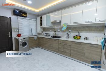 Luxury Finished 2 Bedroom Terrace Apartment, Abraham Adesanya, Off Ogombo Road, Right Across Urban Prime Three, Lekki, Lagos, Flat / Apartment for Sale