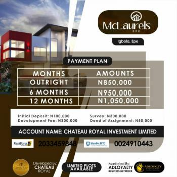 Dry Land, Igbola,epe, Ibeju Lekki, Lagos, Residential Land for Sale