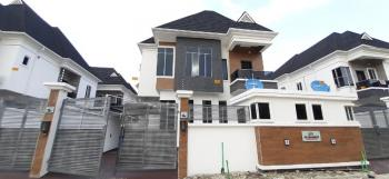 Serviced and Magnificently Finished 4 Bedroom Detached Duplex with Bq, Serviced Estate, Chevron Toll Gate, Lekki, Lagos, Detached Duplex for Sale
