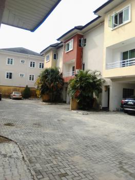 4bedroom Terrace Duplex with Spacious Rooms in a Mini Court, in a Well Secured Estate, Ikota, Lekki, Lagos, Terraced Duplex for Rent