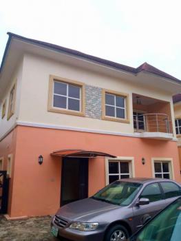 a  Modernized 4 Bedroom Duplex in a Good Location, Chevron, Lekki, Lagos, Detached Duplex for Sale