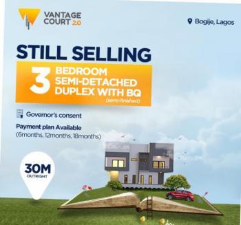 Vantage Terraces, Bogije, Ibeju Lekki, Lagos, Terraced Duplex for Sale