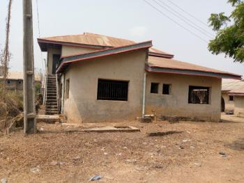 Distressed Uncompleted 4 Bedroom Duplex + 3 Bedroom Apartment & a Bq, Moboluwaduro Estate, Atere-cele Rainbow Area Off Akala Express, Oluyole, Oyo, Detached Duplex for Sale