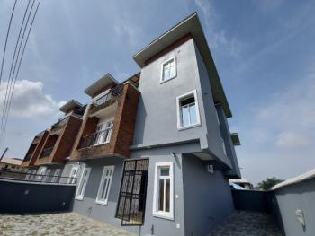 Brand New & Superbly Finished Four (4) Bedroom Terraced House with Bq, University View Estate, Ajah, Lagos, Terraced Duplex for Sale