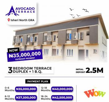 3 Bedrooms Terrace with Bq, By Opic, Ojodu Berger Axis, Isheri North, Lagos, Terraced Duplex for Sale