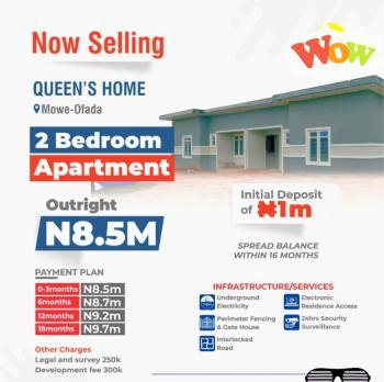 2 Bedroom Apartment Flat, Mowe Ofada, Ogun, Block of Flats for Sale