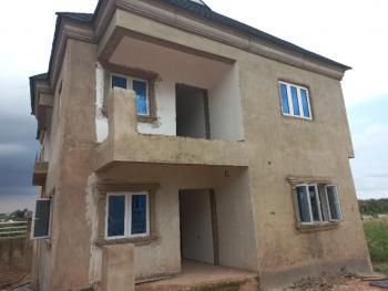 3 Bedrooms Detached Duplex with a Room B/q (carcass), Treasure Hiltop Estate, Itele, Alagbado, Ifako-ijaiye, Lagos, Detached Duplex for Sale