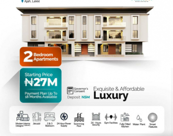 Luxury Apartments Available!, Ajah, Lagos, Flat for Sale