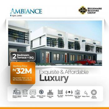 Exquisite 2 Bedroom + Bq, Beside Lagos Business School, Ajiwe, Ajah, Lagos, Terraced Duplex for Sale