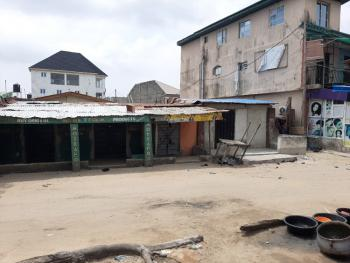 Fenced 534.64sqm of Land Facing Express, Before Shoprite, Sangotedo, Ajah, Lagos, Commercial Land for Sale