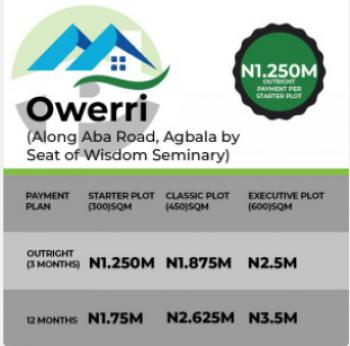 Plot of Land, Along Aba Road, Agbala, Owerri, Imo, Mixed-use Land for Sale