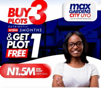 Dryland in Estate, Along Airport Road, Uyo, Akwa Ibom, Mixed-use Land for Sale