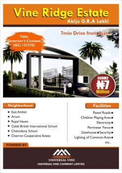 Luxurious Serviced Estate, Vine Ridge Estate, Abijo, Lekki, Lagos, Residential Land for Sale