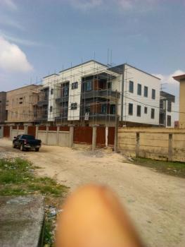 Newly Built 5 Bedroom Terrace with Bq, Elf Bus Stop Behind Elf Estate, Ikate, Lekki, Lagos, Terraced Duplex for Sale
