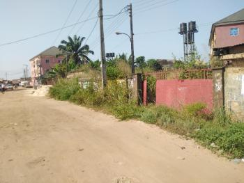 One and Half Plots of Fenced Land with a 2 Bedroom Bungalow, Keedan Road, Orji, Owerri, Imo, Mixed-use Land for Sale