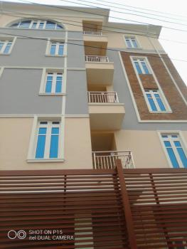 New Serviced 3 Bedroom Flat Apartment in a Gated Street with 2 Balcony, Gbagada, Lagos, Block of Flats for Sale