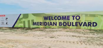 Dry Land in Newly  Launch Meridian Boulevard, Meridian Boulevard  Estate, Lekki Phase 2, Lekki, Lagos, Residential Land for Sale