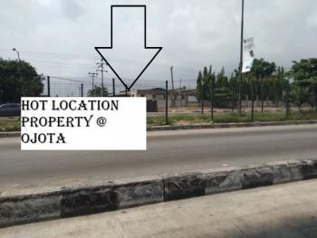 Hot Location Factory Warehouse and Land, By The Pedestrian Bridge, Ojota, Lagos, Industrial Land for Sale