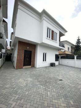 Luxury 4 Bedroom Fully Detcahed with Bq in a Secured Estate, By 2nd Roundabout, Lekki Phase 1, Lekki, Lagos, Detached Duplex for Sale