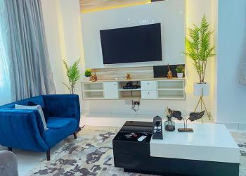 Cozy 2 Bedrooms Duplex with Excellent Facilities, Off Oba Elegushi Road, Ikate Elegushi, Lekki, Lagos, Terraced Duplex Short Let
