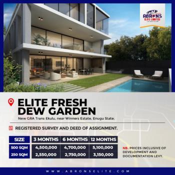 Affordable Residential Land with Good Title, Elite Fresh Dew Garden, New Gra Etiti  Near Winners Estate, Igbo Etiti, Enugu, Residential Land for Sale