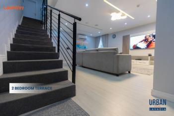 2 Bedroom Terrace, Ogombo, Ajah, Lagos, Terraced Duplex for Sale