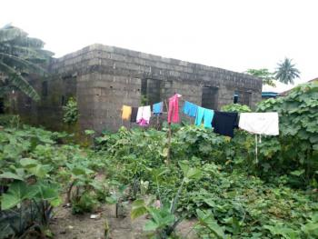 a Plot of Firm and Dry Land with Uncompleted Bungalow, Rukpokwu, Port Harcourt, Rivers, Residential Land for Sale