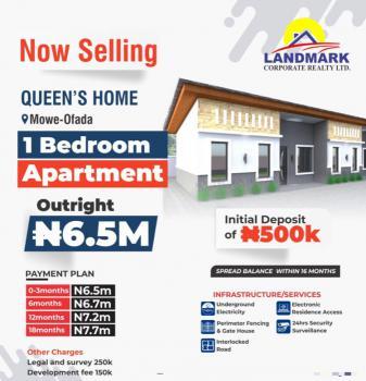 Kate Court, 1 Bedroom Apartment, Queens Homes, Mowe Ofada, Ogun, Block of Flats for Sale