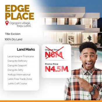 Edge Place Estate Lands, Ogogoro, Ibeju Lekki, Lagos, Residential Land for Sale