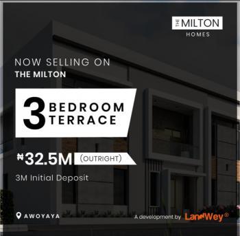 3 Bedroom Terrace Duplex, Lekki-epe Express Way, Awoyaya, Ibeju Lekki, Lagos, Terraced Duplex for Sale