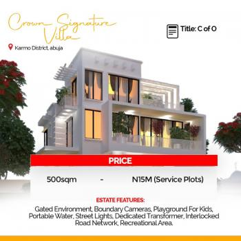 Crown Signature Villa with C of O, Karmo District, Karmo, Abuja, Residential Land for Sale