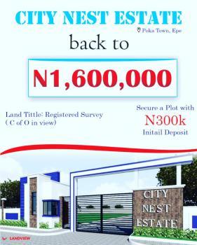 Land, Citynest Estate Poka, Epe, Lagos, Residential Land for Sale