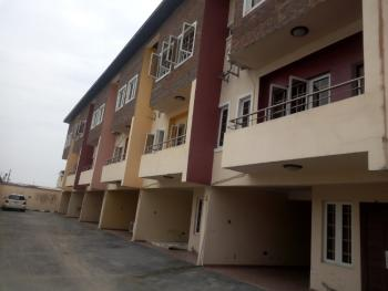 3 Bedrooms Terraced Duplex with Bq, Laundry Room, Behind Enyo Filling Station, Ikate Elegushi, Lekki, Lagos, Terraced Duplex for Rent