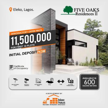 an Attractive Land for Upper Level Income Earners, Five Oaks Residence 2, Eleko, Ibeju Lekki, Lagos, Mixed-use Land for Sale