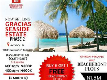 Cheapest Land with Excision, Gracias Seaside Estate Phase 2, Ibeju Lekki, Lagos, Residential Land for Sale
